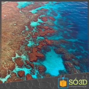 Prótese de Coral impressa em 3D pode salvar a Grande Barreira de Coral