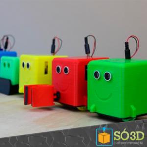 LittleBot: PROJETO PRETENDE ENSINAR CRIANÇAS A PARTIR DE ROBÔ IMPRESSO EM 3D