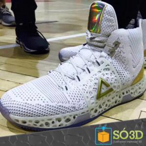 PEAK revela tênis de basquete impresso em 3D em colaboração com Dwight Howard