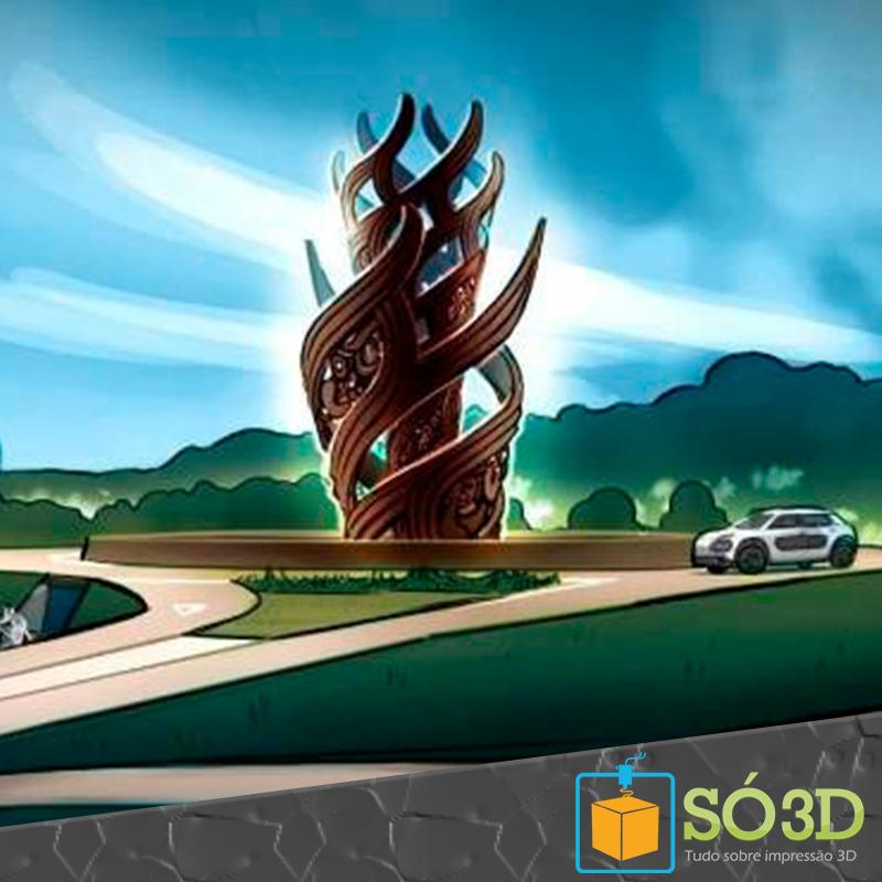 ESCULTURA MAORI DE 12 METROS IMPRESSA EM 3D SERÁ INSTALADA NA NOVA ZELÂNDIA<