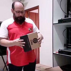Só 3D – Testes de filamentos – Unboxing