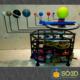 INCRÍVEL E FUNCIONAL SISTEMA SOLAR IMPRESSO EM 3D